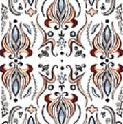 Floral Pattern IIi Poster