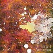 Floral Print Poster by Ankeeta Bansal