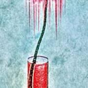 Floral - The Dancing Gerbera Poster