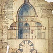 Florence: Brunelleschi Poster