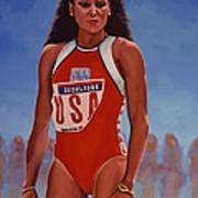 Florence Griffith - Joyner Poster