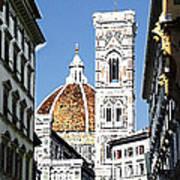 Florence Italy Santa Maria Fiori Duomo Poster