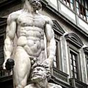 Florence Statue Poster