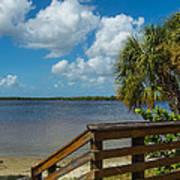 Florida Beach Sky Line. Poster