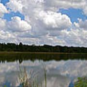 Florida Lake 1 Poster
