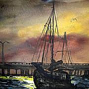Florida Sailing Poster