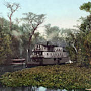 Florida Steamboat, C1902 Poster