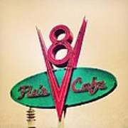 Flo's Cafe Poster