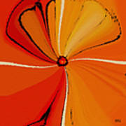 Flower Arrangement Poster by Ben and Raisa Gertsberg