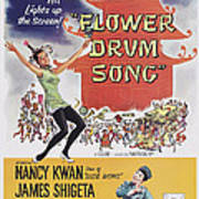 Flower Drum Song, Us Poster Art, Top Poster