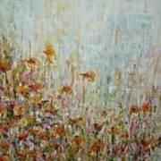 Flower Field Poster