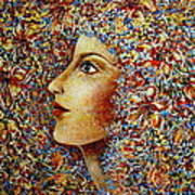 Flower Goddess. Poster