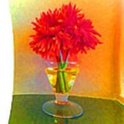 Flower Study #1 Poster