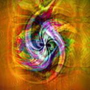 Flower Twist Poster