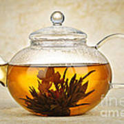 Flowering Blooming Tea Poster