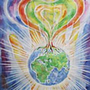 Flowering Of The Earth Poster