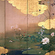 Flowers And Birds Of The Four Seasons Poster
