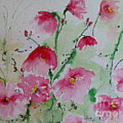 Flowers - Watercolor Painting Poster