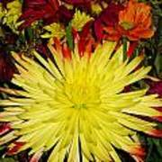 Flowers Yellow Poster