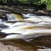 Flowing And Cascading At The Falls Of Dochart - Killin Scotland Poster