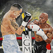 Floyd Mayweather Poster by Don Medina