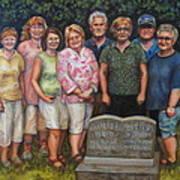 Floyd Family Cousin's Portrait Poster