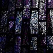 Fluoradescent Poster by Elizabeth S Zulauf