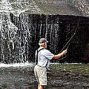 Fly Fishing Without Flies Poster