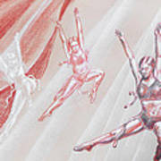 Flying Dancers  Poster
