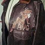 Flying Tiger Jacket Art Poster