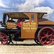 Foden Tractor Poster