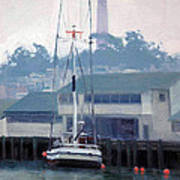 Foggy Day San Francisco Poster
