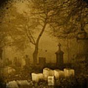 Foggy Necropolis Poster