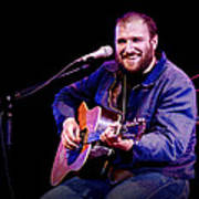 Folk Musician David Bazan In Concert Poster