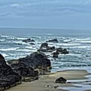 Follow The Ocean Waves Poster