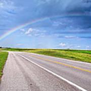 Follow The Rainbow Poster