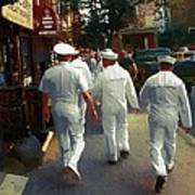 Following The Fleet Poster