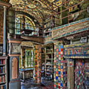Fonthill Castle Library Room Poster