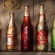 Food - Beverage - Favorite Soda Poster by Mike Savad