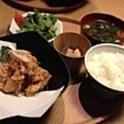 #food  今日はd47で夕食 Poster