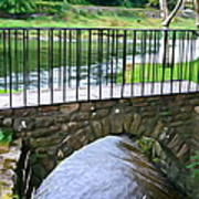 Foot Bridge At Inistioge Poster