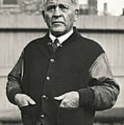 Football Coach Alonzo Stagg Poster