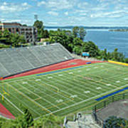 Football Field By The Bay Poster