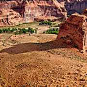 Footprints In The Sand  Canyon Dechelly Poster