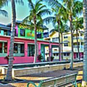 For Myers Beach Restaurant Poster