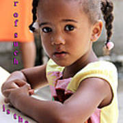 For Of Such... - Haitian Child 1 Poster