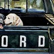 For Our Retriever Dogs Poster