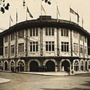 Forbes Field Pittsburgh 1909 Poster