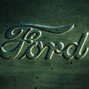 Ford Emblem -0113c Poster