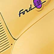 Ford F-100 Emblem Pickup Truck Poster